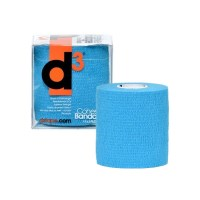 d3 Cohesive Sports Bandage - 75mm x 9m - Electric Blue